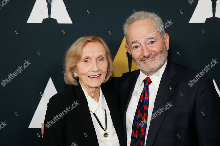 Peter Samuelson, Eva Marie Saint. Peter Samuelson, left, and Eva Marie Saint pose at the Academy Nicholl Fellowships in Screenwriting Awards and Live Read at the Academy of Motion Picture Arts and Sciences Samuel Goldwyn Theater on in Beverly Hills, Calif