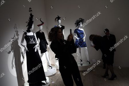 Editorial image of 'Naty Abascal and fashion!' exhibit in Mexico City - 08 Nov 2019