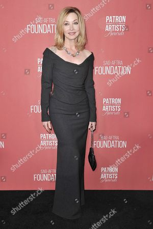 Sharon Lawrence attends SAG-AFTRA Foundation's 2019 Patron of the Artists Awards at the Wallis Annenberg Center for the Performing Arts, in Beverly Hills, Calif