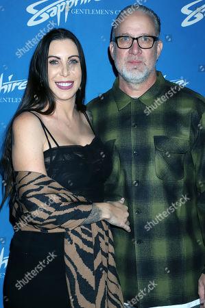 Jesse James and wife Alexis Dejoria