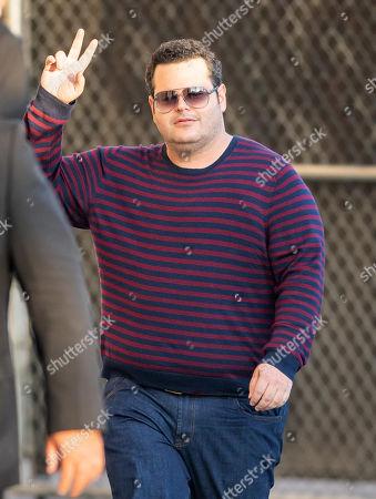 Editorial photo of 'Jimmy Kimmel Live!' TV show, Los Angeles, USA - 07 Nov 2019
