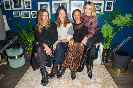 Charlotte Gabris, Anne Serra, Aureli Konate, Joy Esther