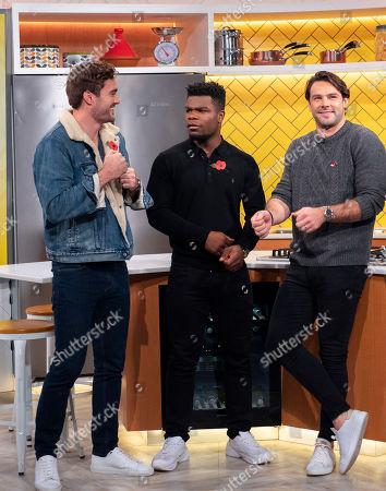 Try Star - Thom Evans, Ben Foden and Levi Davis
