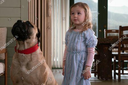 Finley Rose Slater as Zoey