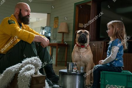 Tyler Mane as Axe and Finley Rose Slater as Zoey