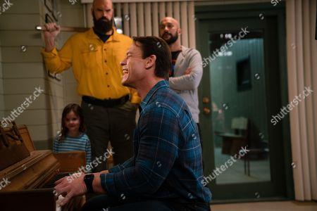 "Finley Rose Slater as Zoey, Tyler Mane as Axe, John Cena as Jake ""Supe"" Carson and Keegan-Michael Key as Mark"
