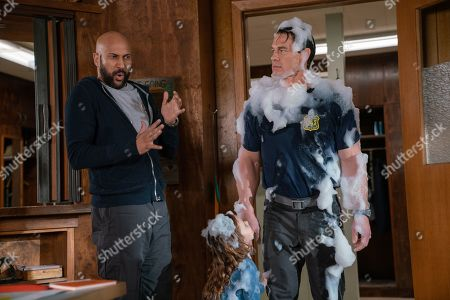 "Keegan-Michael Key as Mark, Finley Rose Slater as Zoey and John Cena as Jake ""Supe"" Carson"