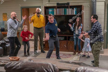"Keegan-Michael Key as Mark, Christian Convery as Will, Tyler Mane as Axe, John Cena as Jake ""Supe"" Carson, Brianna Hildebrand as Brynn, Finley Rose Slater as Zoey and John Leguizamo as Rodrigo"