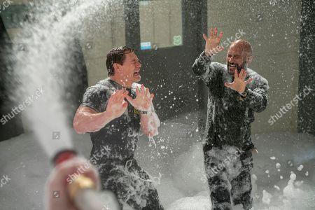 "John Cena as Jake ""Supe"" Carson and Keegan-Michael Key as Mark"