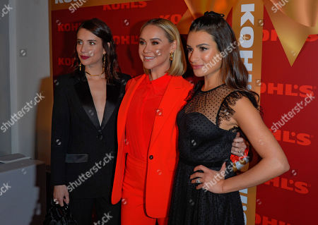 Stock Photo of Emma Roberts, Becca Tobin and Lea Michele