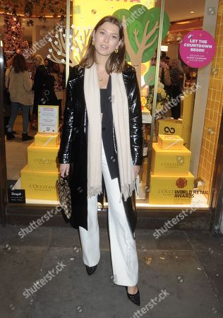 Editorial photo of EL and N X L'Occitane beauty cafe launch party, London, UK - 07 Nov 2019