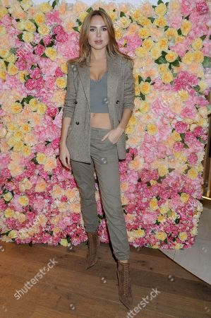Editorial picture of EL and N X L'Occitane beauty cafe launch party, London, UK - 07 Nov 2019