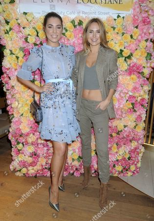Editorial image of EL and N X L'Occitane beauty cafe launch party, London, UK - 07 Nov 2019