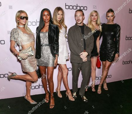 Editorial picture of boohoo.com Holiday Party, Arrivals, Los Angeles, USA - 07 Nov 2019
