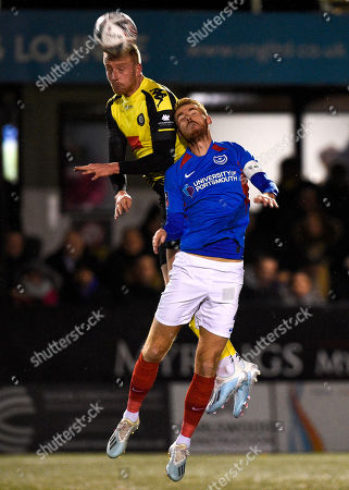 Editorial picture of Harrogate Town v Portsmouth, Emirates FA Cup First Round, Football, CNG Stadium, UK - 11 Nov 2019