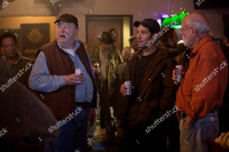 Stock Photo of Gene Jones as Farmer Ray and Paul Rudd as Miles Elliot