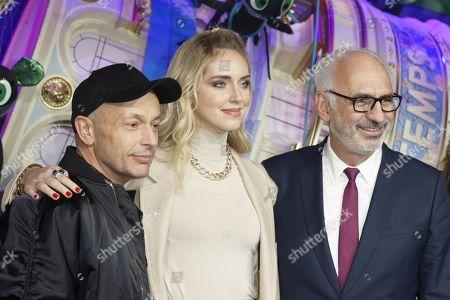 Franck Banchet, Chiara Ferragni and Paolo De Cesare
