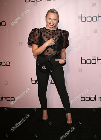 Editorial image of boohoo.com Holiday Party, Arrivals, Los Angeles, USA - 07 Nov 2019