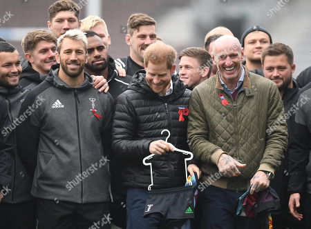 Editorial image of Prince Harry in Twickenham, London, Spain - 08 Nov 2019