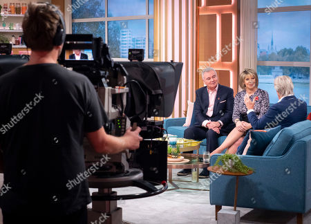 Eamonn Holmes and Ruth Langsford with William Roache