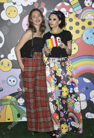 Editorial photo of alice + olivia by Stacey Bendet x FriendsWithYou Collection Launch Party, Los Angeles, USA - 07 Nov 2019