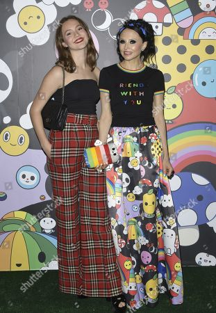 Editorial image of alice + olivia by Stacey Bendet x FriendsWithYou Collection Launch Party, Los Angeles, USA - 07 Nov 2019