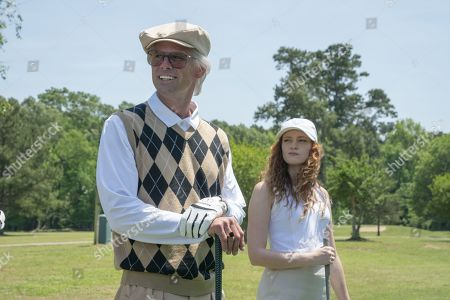 Walton Goggins as Baby Billy Freeman and Valyn Hall as Tiffany Freeman