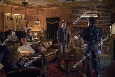 J. LaRose as Gregory, James Dumont as Chad, Troy Anthony Hogan as Matthew, Jody Hill as Levi, Adam Devine as Kelvin Gemstone and Danny McBride as Jesse Gemstone