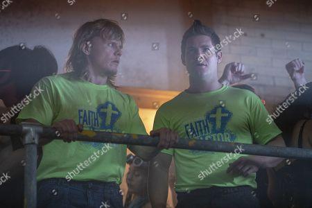 Tony Cavalero as Keefe Chambers and Adam Devine as Kelvin Gemstone