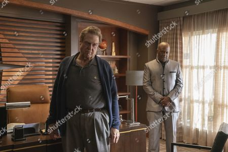 John Goodman as Dr. Eli Gemstone and Gregory Alan Williams as Martin Imari