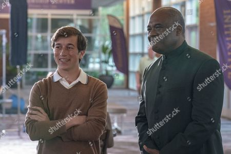 Skyler Gisondo as Gideon Gemstone and Gregory Alan Williams as Martin Imari