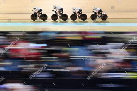 Editorial picture of Tissot UCI Track Cycling World Cup. Glasgow, UK - 08 Nov 2019