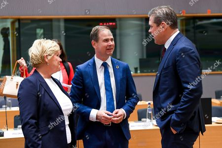 Editorial image of Economic and Financial Affairs Council meeting, Brussels, Belgium - 08 Nov 2019