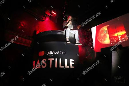 Stock Photo of Dan Smith, Mastercard and JetBlue present an intimate Bastille concert exclusively for JetBlue cardmembers