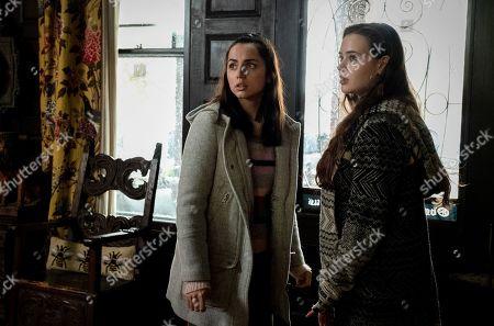 Stock Photo of Ana de Armas as Marta Cabrera and Katherine Langford as Meg Thrombey