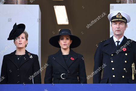 Editorial photo of Remembrance Day Service, The Cenotaph, Whitehall, London, UK - 10 Nov 2019