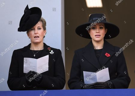 Stock Picture of Sophie Countess of Wessex and Meghan Duchess of Sussex