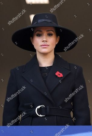 Editorial image of Remembrance Day Service, The Cenotaph, Whitehall, London, UK - 10 Nov 2019