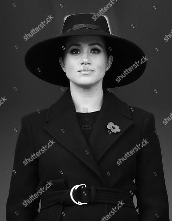 Stock Photo of Meghan Duchess of Sussex
