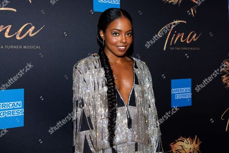Editorial photo of Opening night of Broadway's 'Tina - The Tina Turner Musical', Arrivals, Lunt-Fontanne Theater, New York, USA - 07 Nov 2019