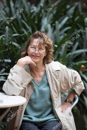 Jane Birkin poses during the presentation of her concert 'Symphonie Intime' (lit. Intimate Symphony) at the Temporada Alta stage arts festival in Barcelona, Spain, 08 November 2019. The concert will be presented on 09 November.