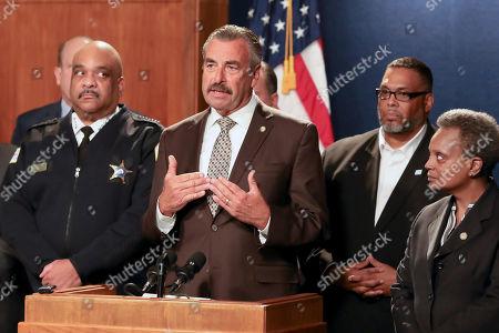 Editorial image of Police-Interim Superintendent, Chicago, USA - 08 Nov 2019