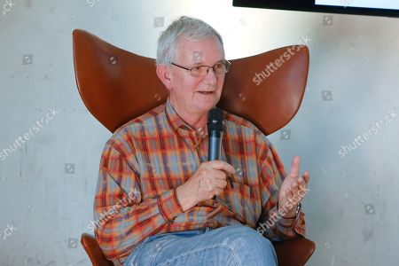 Photographer Martin Parr at the Photography fair organised within the Grand Palace