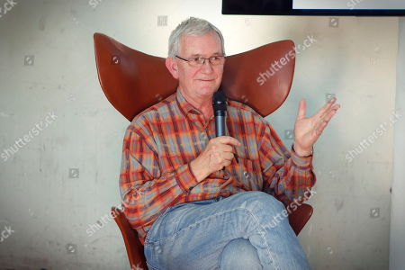 Stock Photo of Photographer Martin Parr at the Photography fair organised within the Grand Palace