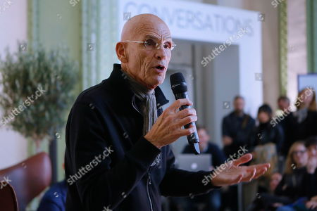 Stock Picture of Photographer Joel Meyerowitz at the Photography fair organised within the Grand Palace