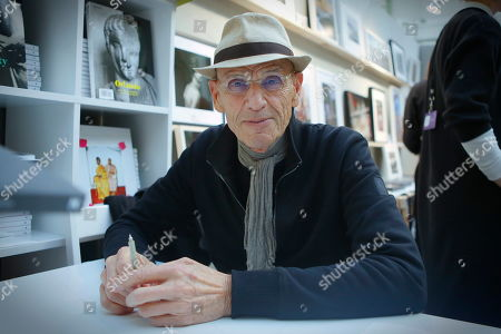 Photographer Joel Meyerowitz at the Photography fair organised within the Grand Palace