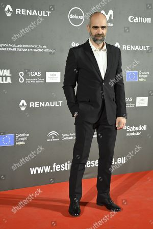 Stock Picture of Luis Tosar poses during the 16th edition of the Seville European Film Festival (SEFF), in Seville, southern Spain, 08 November 2019. The Festival de Sevilla runs from 08 to 16 November.