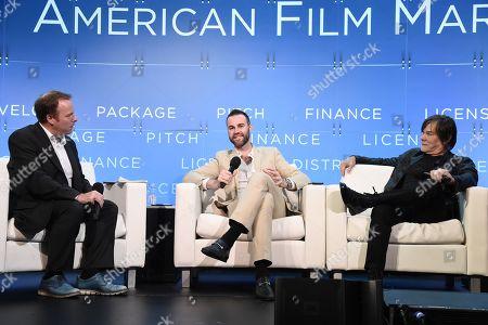 Scott Roxborough, European Bureau Chief, The Hollywood Reporter, Jeffrey Greenstein, President, Millennium Media, Inc., Alan Siegel, President & CEO, Alan Siegel Entertainment