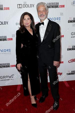 Paula Wagner and Rick Nicita