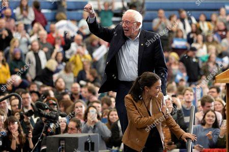 Editorial photo of Election 2020 Bernie Sanders, Council Bluffs, USA - 08 Nov 2019